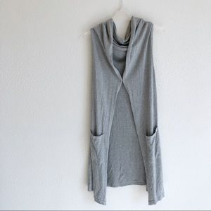 CAbi 5412 Gray Hoodie Vest Limited Edition Large